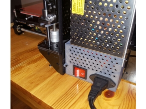 Power cable cover for Geeetech Prusa i3 Pro B