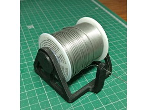 Solder Spool Wire Support For Spools Of 30mmx70mm and 55mmx60mm