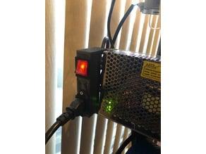power supply plug holder
