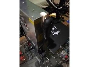 Putty knife holder (Creality Ender 3)