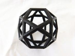 Icosidodecahedron (Da Vinci and Pacioli)