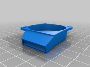 Wanhao Duplicator 6 angled fan duct