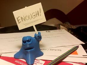 Strike Blob ANGRY !