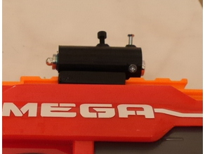 Adjustable Nerf laser sight