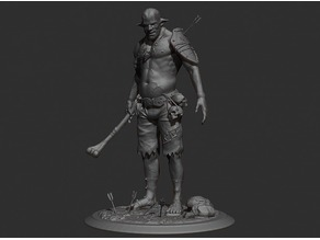 Cannibal tabletop figure