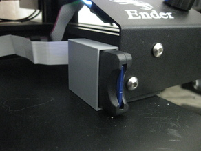 SD Card Extender holder for Creality Ender 3