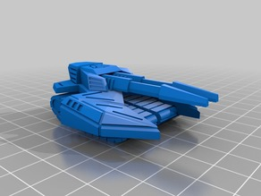 Cybran T2 Rhino Tank - Separate pieces