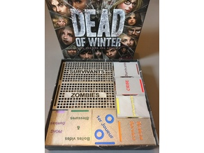 Inlay for DEAD OF WINTER Crossing Roads - Rangement pour DEAD OF WINTER à la croisée des chemins
