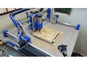 Root 3 CNC multitool router 3D printed parts