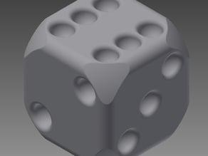 six sided dice