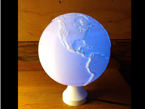 Globe Lamp - Earth