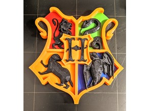 Hogwarts - Harry Potter multimaterial (Prusa mmu2)