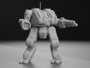 TNS-4S Thanatos for Battletech