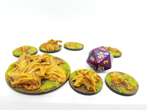 Ochre Jelly/Generic slimes for 28mm tabletop gaming