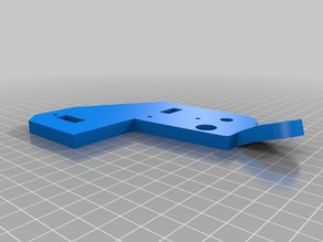 Anet A8 Diagonal reinforcement & top plate in one part
