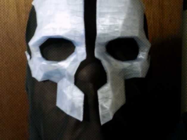 Corvo S Mask From Dishonored By Unknownhand