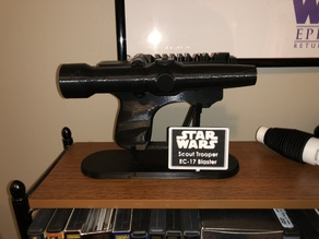 Imperial Scout Trooper Blaster Stand