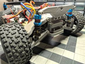 3D Printed RC Car v3 -- Tarmo3 -- Rear Parts [2/3]
