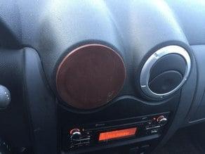 Largus, Dacia, Logan air duct cover, holder for phone