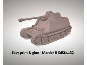 Easy print & glue - Marder II Sd.Kfz.132
