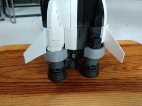 LEGO Saturn V Fin