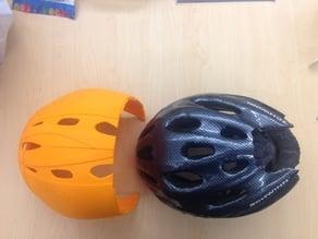 3D Printed bicycle helmet