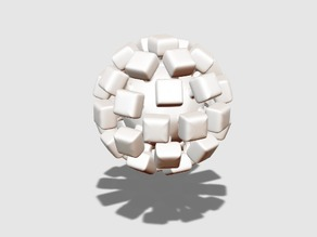 Sugar cube bauble
