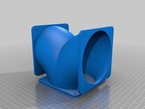 120mm Fan T manifold