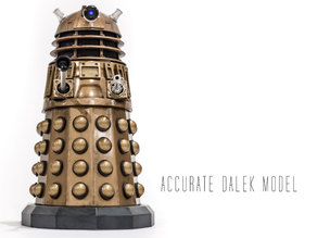 Accurate Dalek Model from Doctor Who
