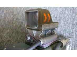 Laser Rifle Reflex Sight
