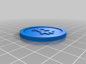 Bitcoin Digital Currency 40x3mm V2