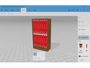 Mini Bookshelf for mini Switch game cases