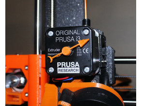 Super Simple NEMA (extruder) motor rotation indicator (Prusa MK2(S)/MK2.5/MK3)