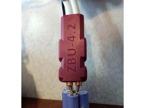 Spot Welder Handle ZBU-4.2 with the start button. Floating electrode holder.