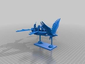 28mm Flying Elf Chariot