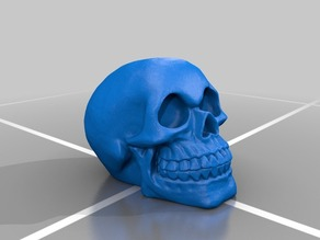Celtic Skull by Artec 3d minus the Celtic Designs (see my page for an updated and much smoother version)