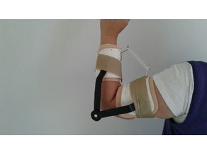 Elbow and wrist joint for orthesis