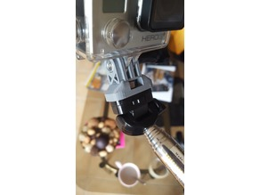 GoPro mount for cheap chinese selfie stick