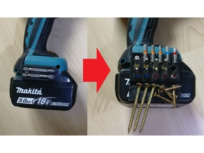 Makita bit holder - Mini to Extreme (differen sizes)