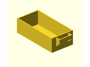 Vase drawer 4x