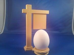 White Fence Farm Egg Holder