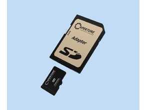 Model - Micro Secure Digital Card with Adapter
