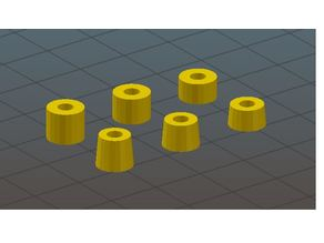 Rubber Flight controller spacers