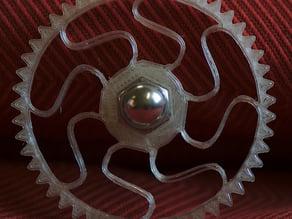 Ultimaker springy wheel