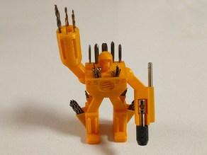 Small Drill Bit Holder Robot