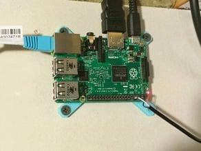 Raspberry Pi 2 wall plate