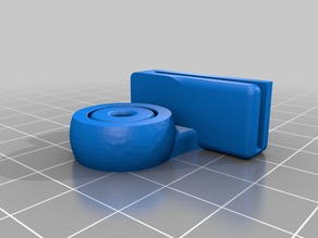 Ender 3 Fillament Guide with PTFE Sleeve