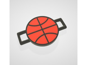 Basket Ball - Lace Lock (POP Lace) - Bicolor compatible