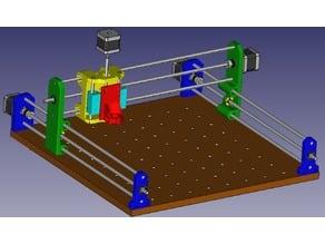 CNC 3D printable