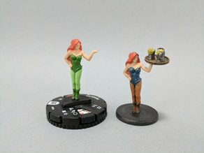 HeroClix Conversion: Poison Ivy to Bar Maid